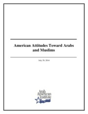 Americans' Attitudes towards Muslims
