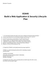 Unit 10 lab  Build a Web Application & Security Lifecycle Plan.docx