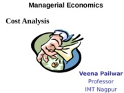 Cost Analysis Short Run PPT