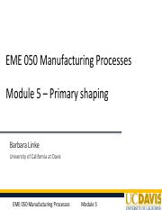 EME050_Module5_Primary Shaping_WQ17