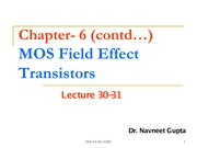 Lecture-30-31-MOSFET
