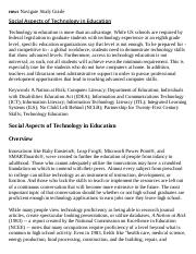 Social Aspects of Technology in Education Research Paper Starter - eNotes.pdf