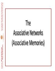 ENN  114 (Associative Networks I)