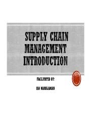 I. Introduction to Supply Chain.pdf