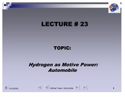 L23-Motive Power Automobiles