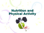 10. Nutrition and Physical Activity