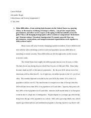 Global Issues and Society Assignment 2.docx