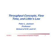 ThroughputFlowTimeAndLittlesLaw v2