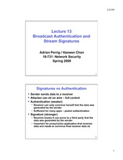 lecture13-broadcast-authentication-signature-haowen
