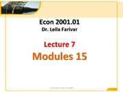 2001 Lecture 7