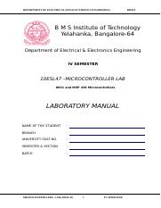 8051 variosprogramas doc department of electrical and electronics rh coursehero com