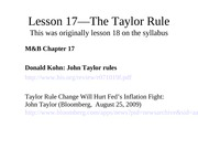 Lesson+17-The+Taylor+Rule