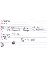 Managerial Finance Class Notes 10