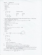 Worksheet 12- Multivariate dist.