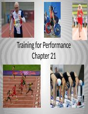 Sp16 Chapter 21 Training for Performance-2.pptx