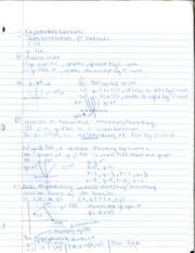 MAT 145 Exponential Functions Notes