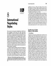 R8. International Negotiating Styles - Foster - ch 8 pp 264 - 293.pdf