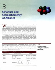 Ch 3 - Structure and Stereochemistry of Alkanes