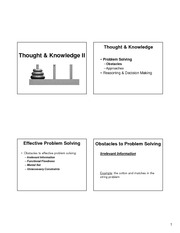 Lecture 21 - Knowledge _ Thought II