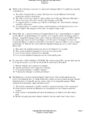 Sample Exam 3 Questions