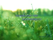Integrated+technology+on+sustainability+2013