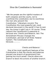 How the Constitution is Awesome.docx
