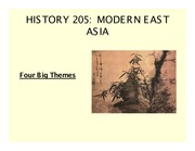 History 205 Lecture 1