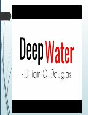 I DEEP WATER.pptx