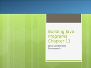 Chapter 11 Java Collections Framework