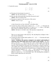 GSW Problem Set 6 Answers