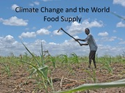 18. Climate change and global food production