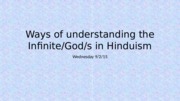 Hinduism Lecture 4_Theism and Worship