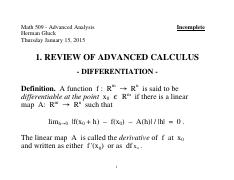 Math 509X - 01. Review of Advanced Calculus - Differentiation.pdf