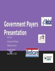 Government Payers Presentation-wk3.pptx