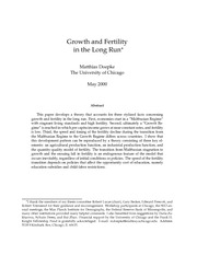 ------old -accounting for fertility decline