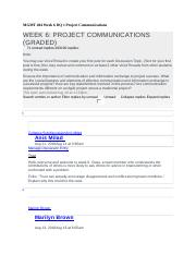 MGMT 404 Week 6 DQ 1 Project Communications - Copy.docx