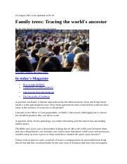 Dr Yan Wong - Ultimate Family Tree