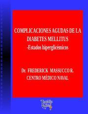 complicaciones agudas de la diabetes adalah