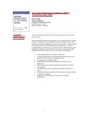 Sun Certified Enterprise Architect Pdf