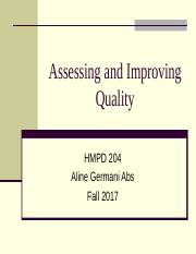 Assessing and Improving Quality.ppt