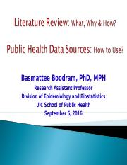 Lecture 05_Literature Review & Public Health Data Sources(1) (1)