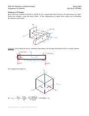 Assignment #2 Solution - Spring 2014