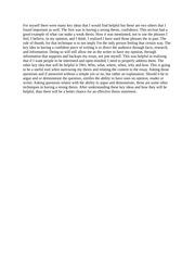 Thesis statement quiz
