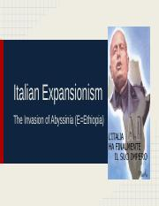 Italian Expansionism 2.pptx