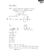 PHY 2004 2D Motion Notes