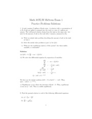 Midterm1practicesolutions