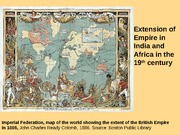 March 11 - Empire in India and Africa