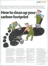 How to clean up your carbon footprint
