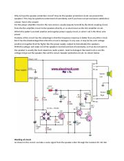 Why to have the speaker protection circuit.docx