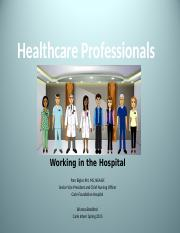 09 20 2016 Healthcare Professionals Posting Version CHLH 458 (Pam Bigler)
